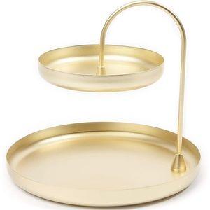 Umbra 2 tier jewelry tray